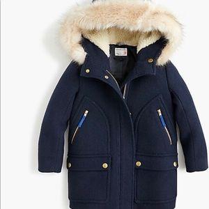 JCrew Parka Coat.